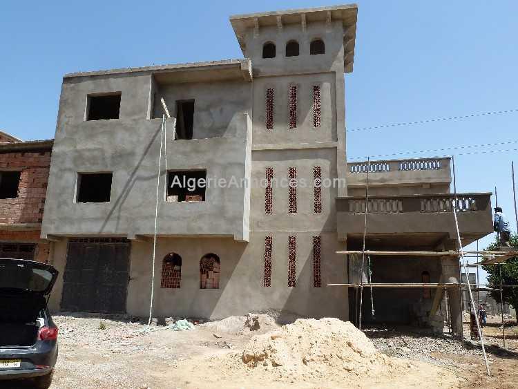Vente belle villa a finir villas maisons riads - Belle maison en algerie ...