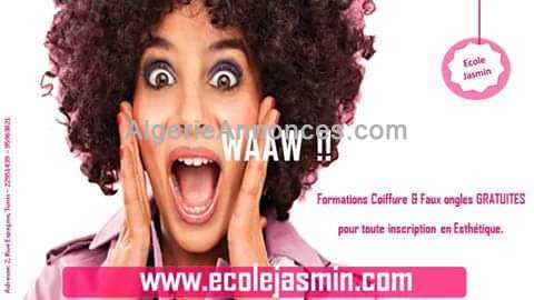 Formation Esthétique Coiffure Onglerie maquillage